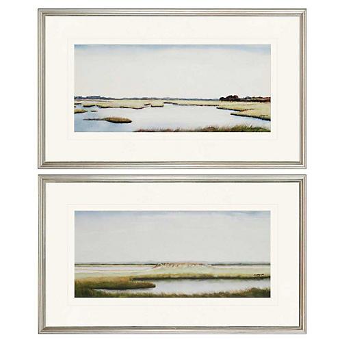 Marshlands I Diptych