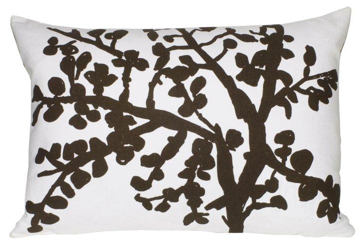 Branch 14x20 Pillow, Chocolate