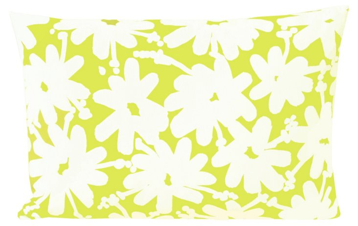 Lil Daisy 14x20 Pillow, Yellow