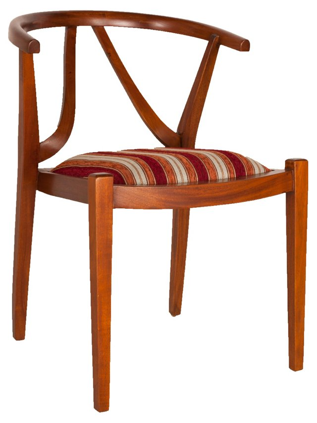 Moda Chair, Striped, Pair
