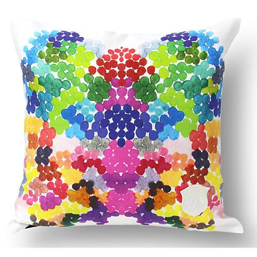 On Fire 18x18 Linen Pillow