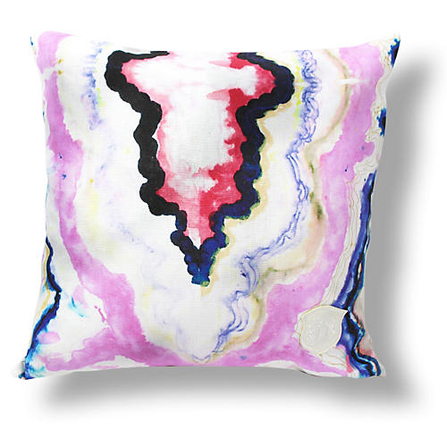 Hard Rock 18x18 Linen Pillow
