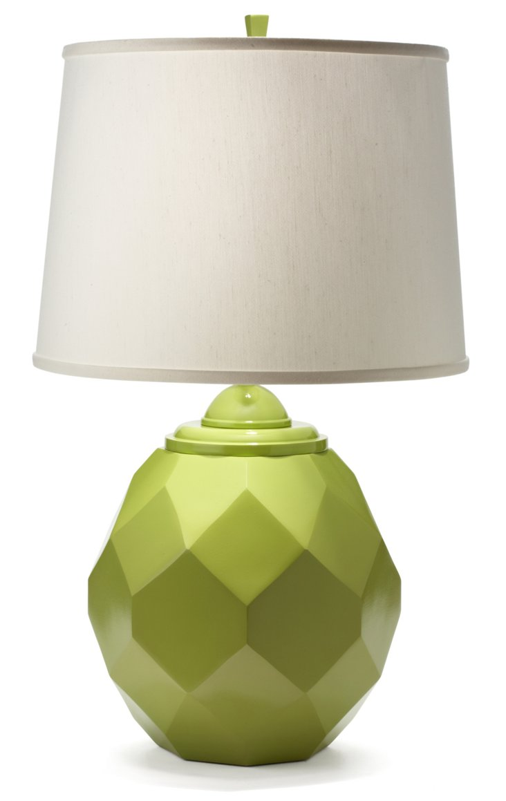 Jewel Table Lamp, Lime