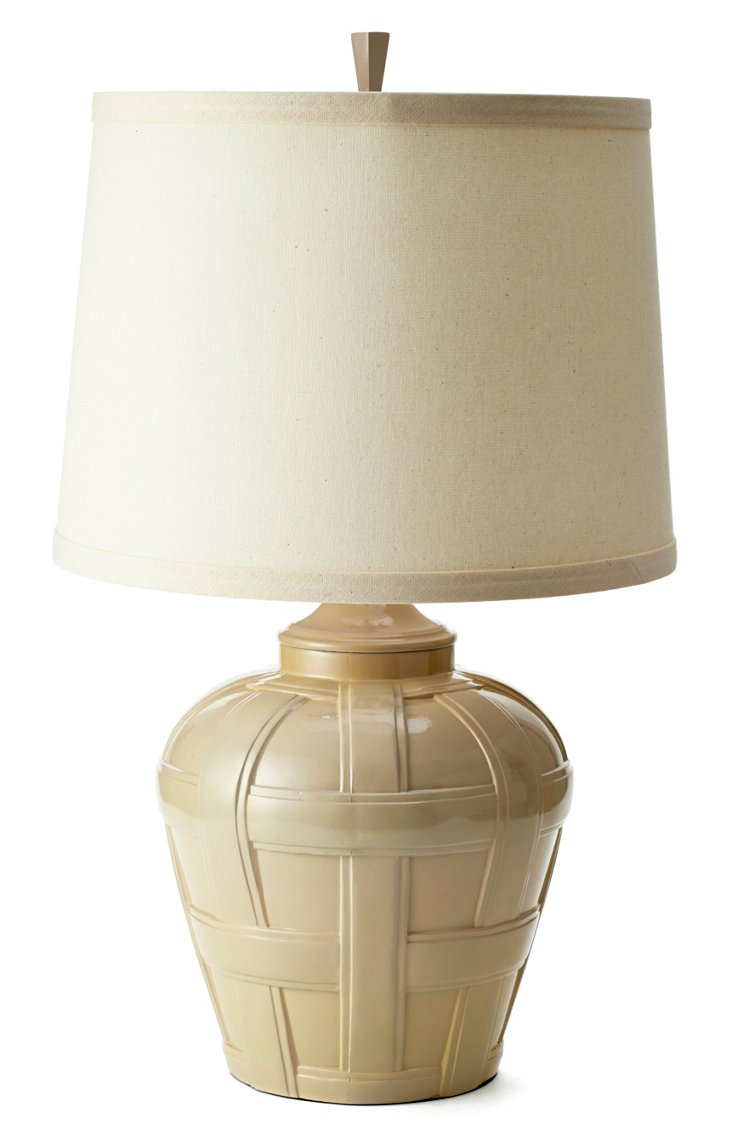 Bristol Table Lamp, Bone