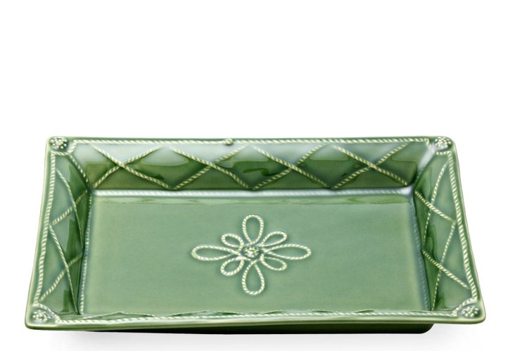 Jardins Monde Sweet Tray, Green