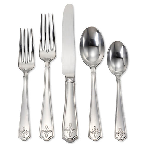 Villandry Place Setting, Silver