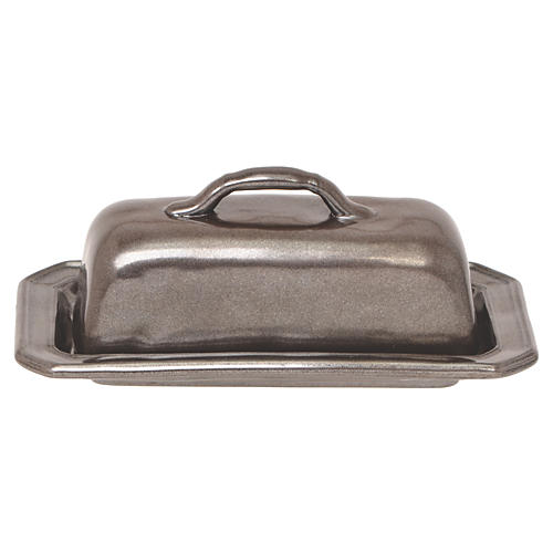 Pewter Butter Dish