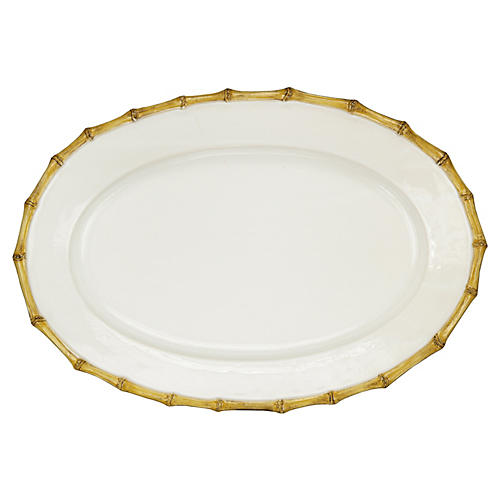 Large Bamboo Platter, 20""