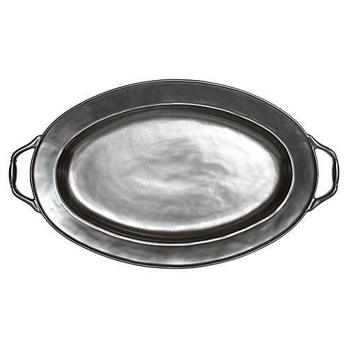 Pewter Turkey Platter, 20""