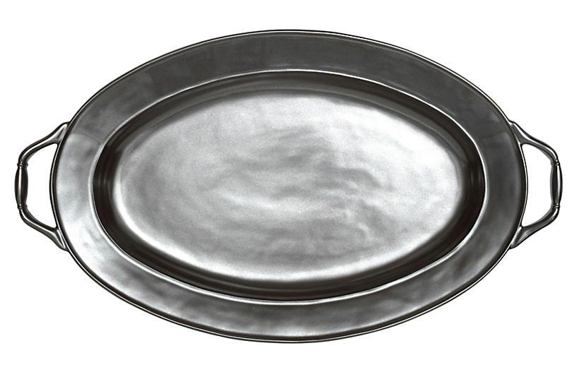 Pewter Turkey Platter - 20