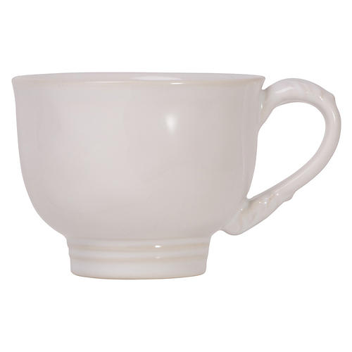 Acanthus Tea/Coffee Cup, White