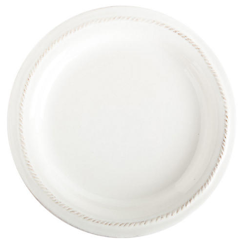 Berry & Thread Cocktail Plate, White