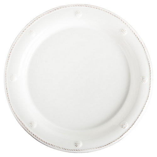 Berry & Thread Dessert Plate, Whitewash