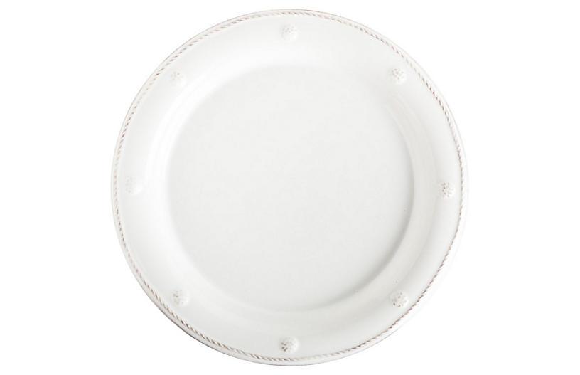 Berry & Thread Dessert Plate, Whitewash