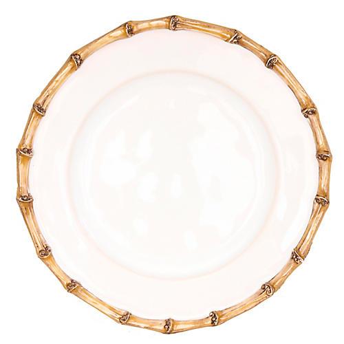 Classic Bamboo Dessert Plate