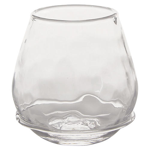 Carine Stemless Red-Wine Glass, Clear