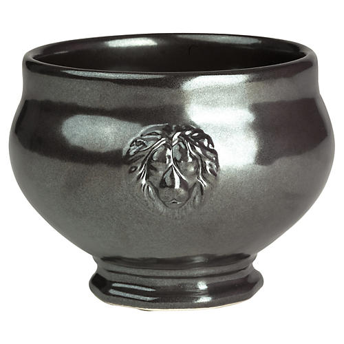 Stoneware Footed Soup Bowl,