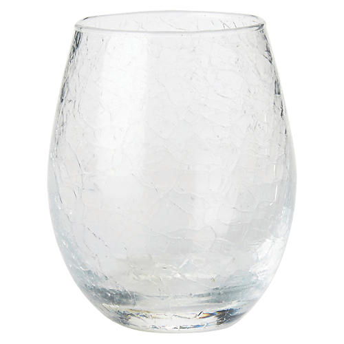 Hugo Stemless White-Wine Glass, Clear