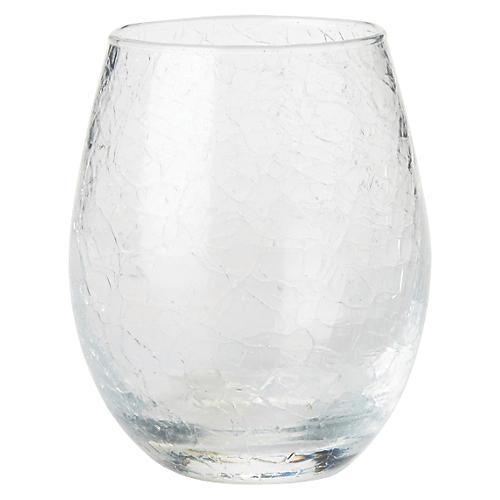 Hugo Stemless White-Wine Glass, Clear
