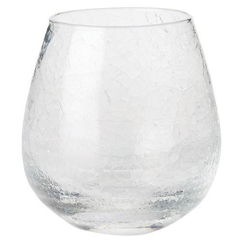 Hugo Stemless Red-Wine Glass, Clear