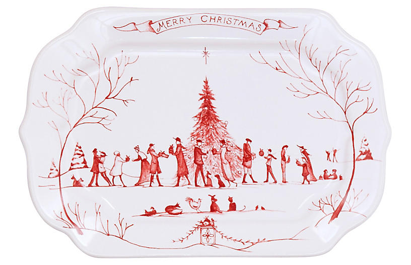 Country Estate Winter Gift Tray
