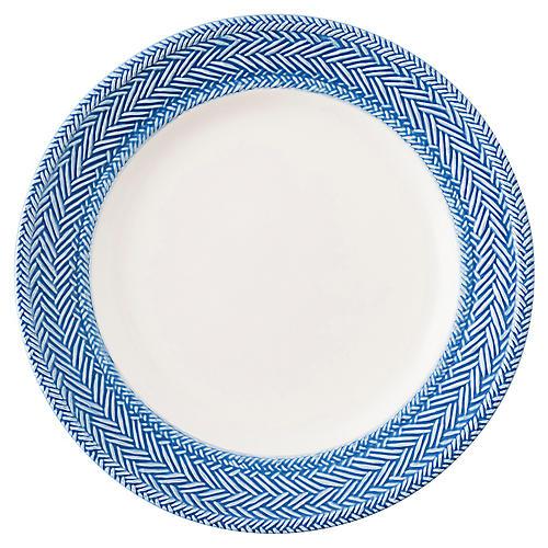 Le Panier Salad Plate, Delft Blue/White