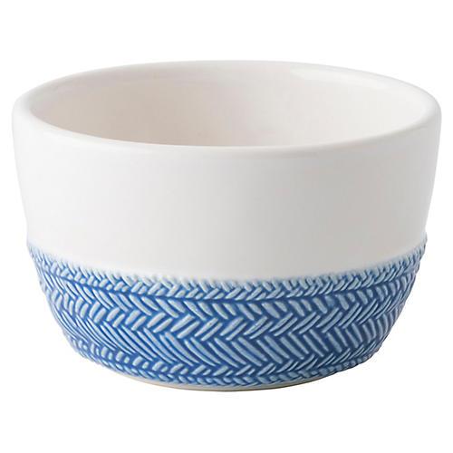 Le Panier Ramekin, Delft Blue/White