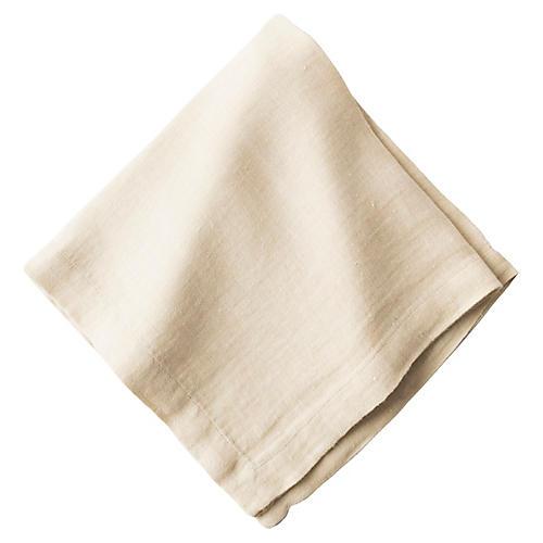Heirloom Linen Napkin, Flax
