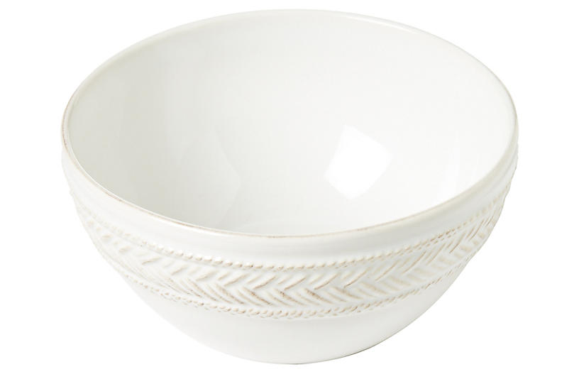 Le Panier Cereal Bowl, White