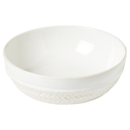 Le Panier Coupe Soup Bowl, White