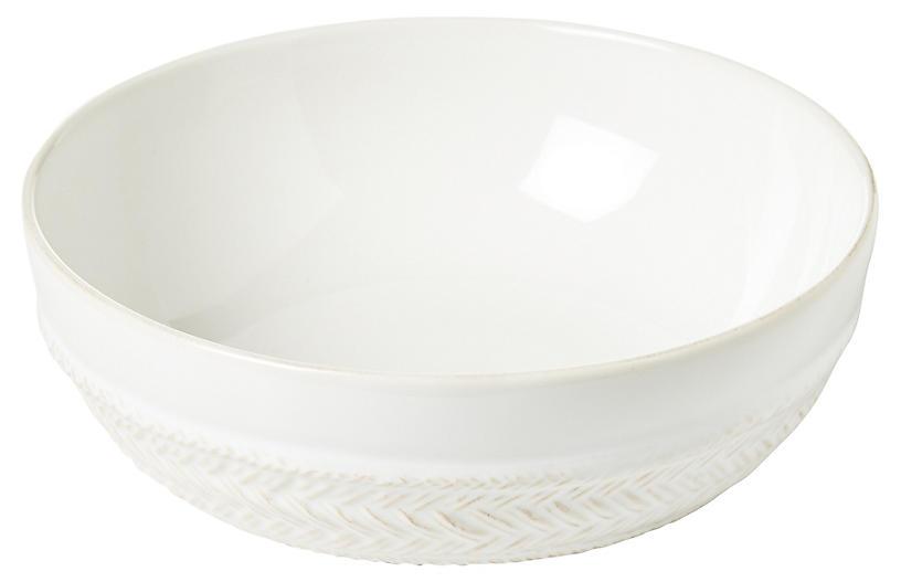 Le Panier Coupe Soup Bowl, White