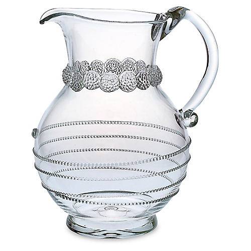 Amalia Round Pitcher, Clear