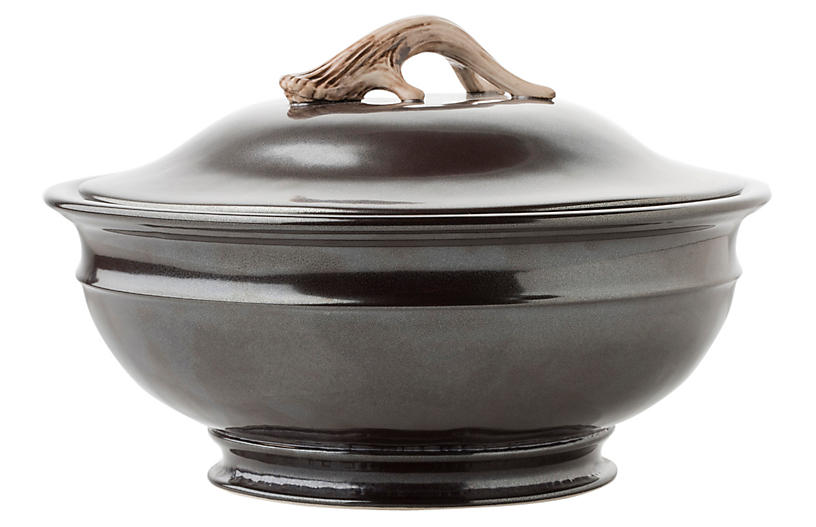 Forest Soup Tureen - Pewter - Juliska