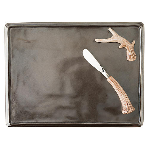 Asst. of 3 Forest Board Set, Pewter