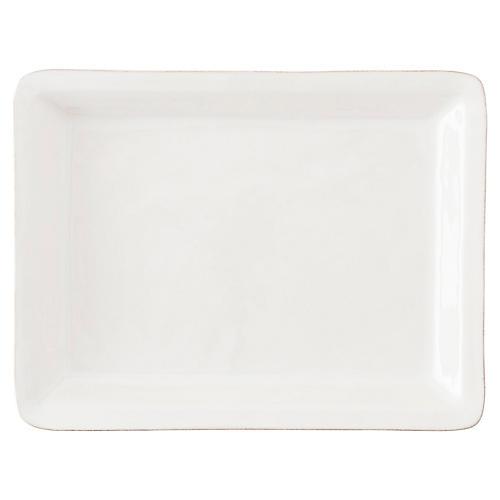 Puro Serving Platter, White