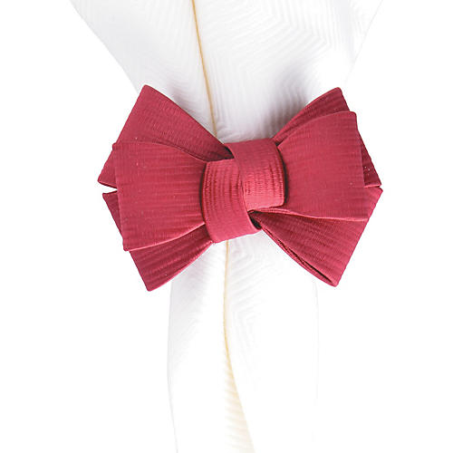 Tuxedo Napkin Ring, Ruby