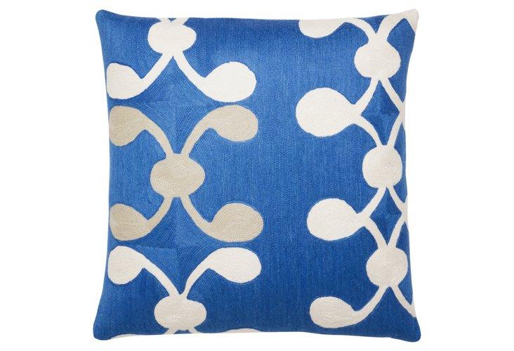Celine 18x18 Pillow, Marine