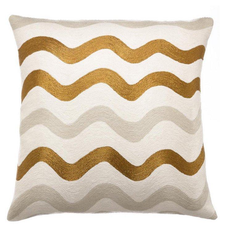 Ric Rak 18x18 Pillow, Cream