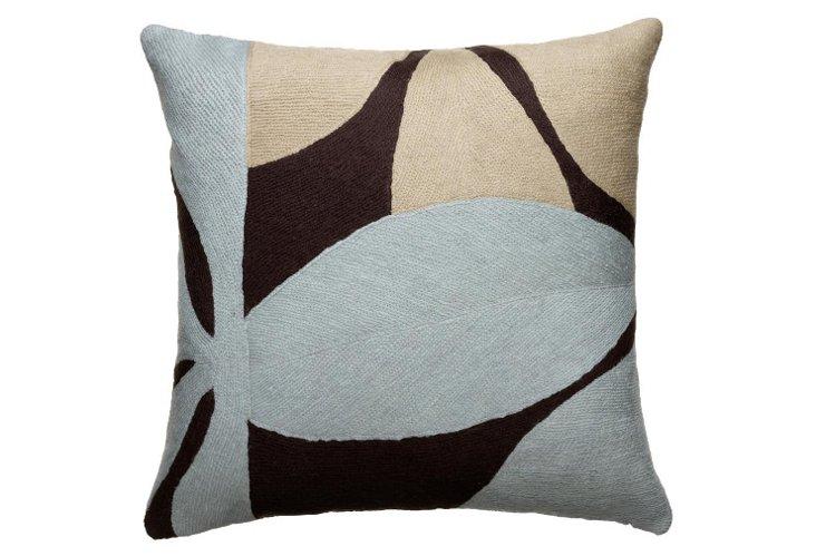 Fauna 16x16 Pillow, Chocolate