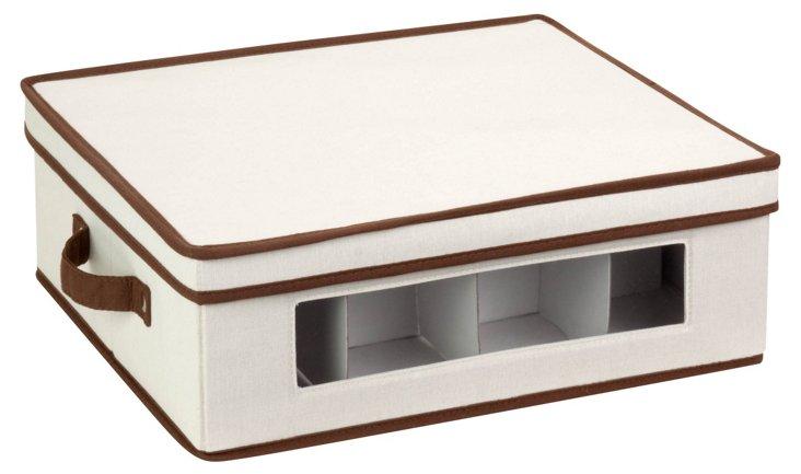 Canvas Window Storage Box, Large