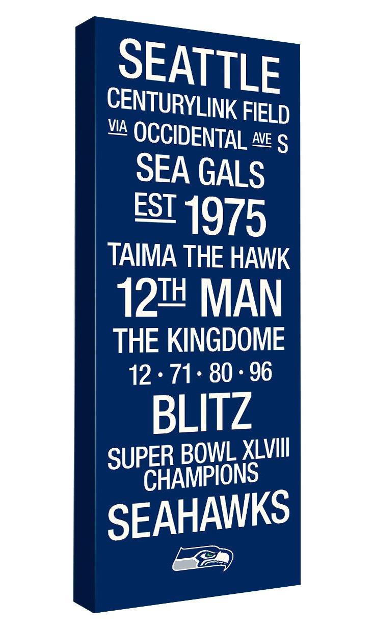 Super Bowl Winner Subway Art