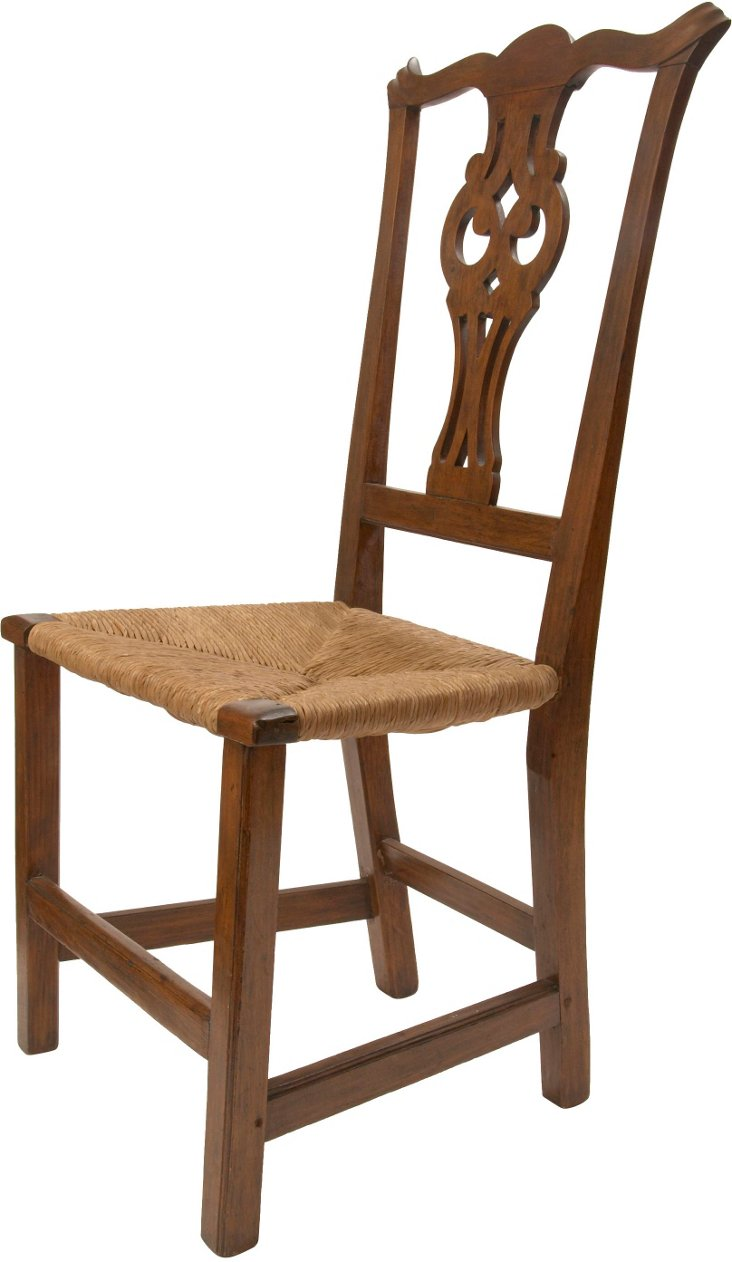 18th-C. Chippendale Side Chair