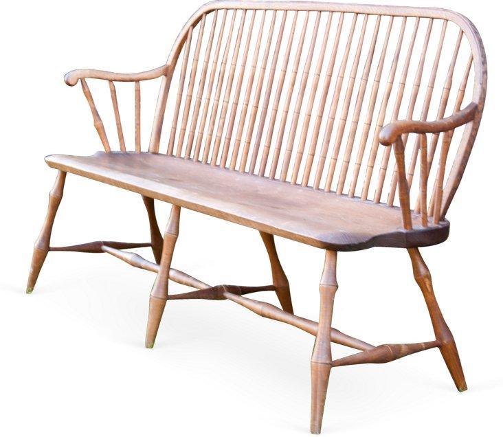 Windsor Bow-Back Bench