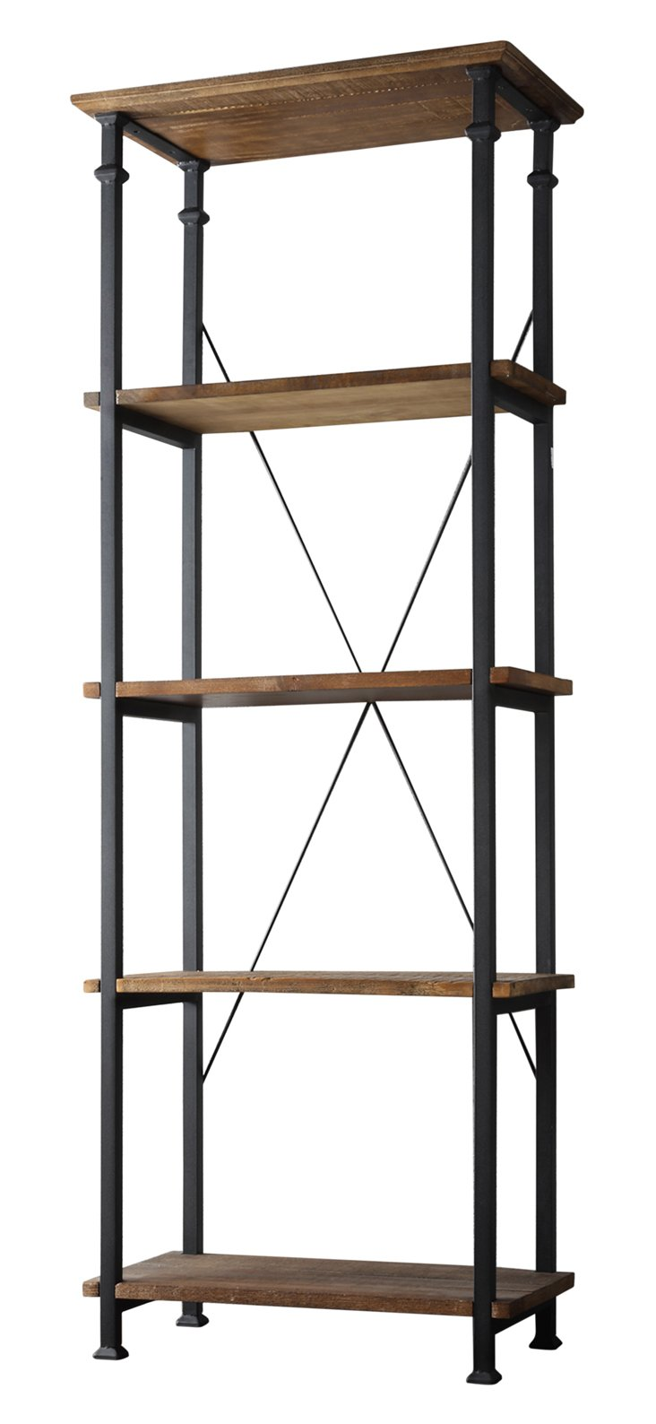 Lang Bookcase, Brown/Black