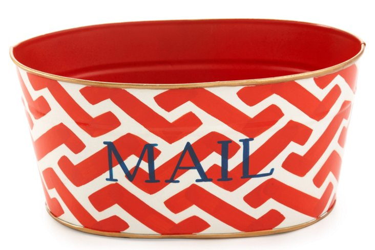 Mail Tub, Coral