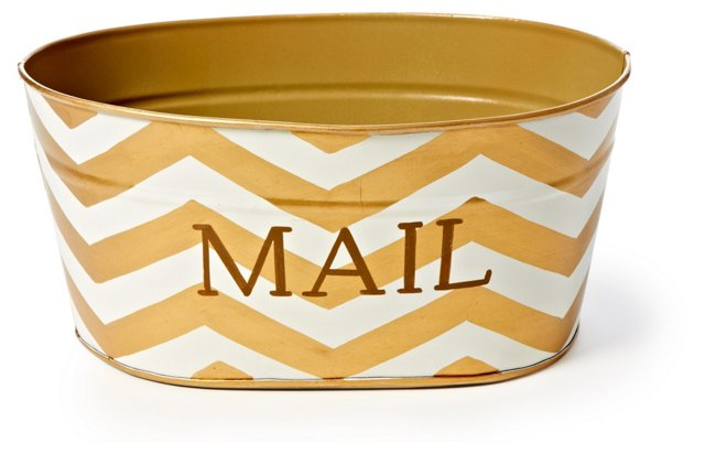 Mail Tub, Chevron Gold