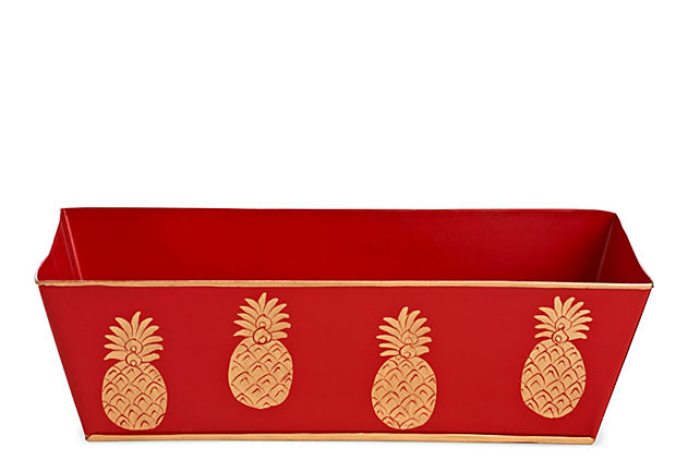 Catchall, Pineapple Red