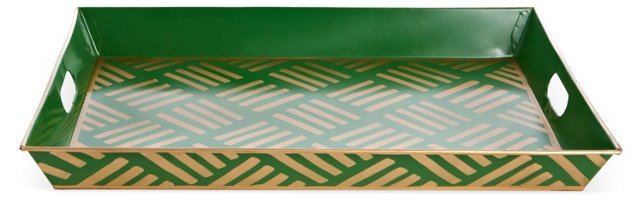 Serving Tray, Sweetgrass Green