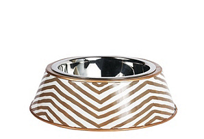 Kenya Dog Bowl, Taupe