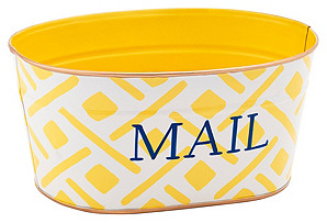 Mail Tub, Colette  Yellow